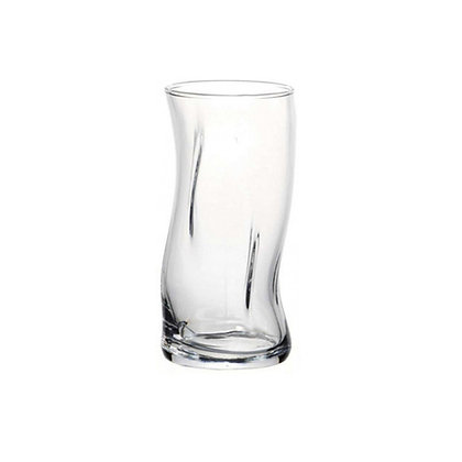 Set De 4 Vasos Largos De 14.8 oz (440 ml) Window Amorph Pasabahce