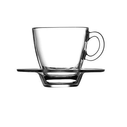 Set De 6 Ternos Para Cafe Aqua De 72 ml Pasabahce