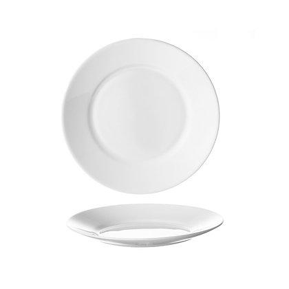 Plato Trinche 25 cm Restaurant White Luminarc