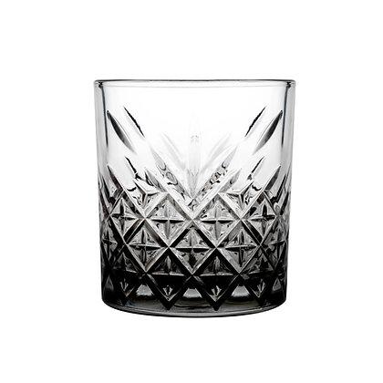 Set De 4 Vasos Old Fashion De 11.6 oz (345 ml) Black Timeless Pasabahce