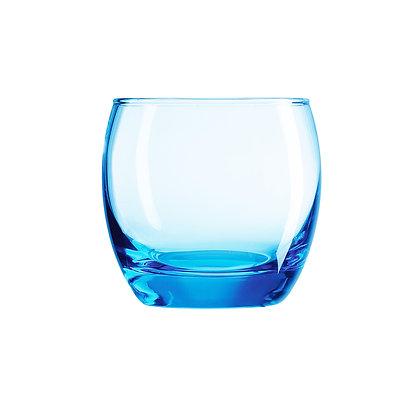 Set De 6 Vasos De 10.8 oz (320 ml) Salto Ice Blue Arcoroc