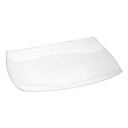 Fuente Rectangular De 35 cm Quadratto Blanca Luminarc