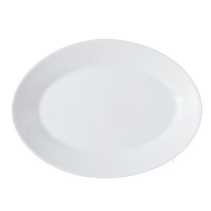 Fuente Ovalada De 29 cm Restaurant White Luminarc
