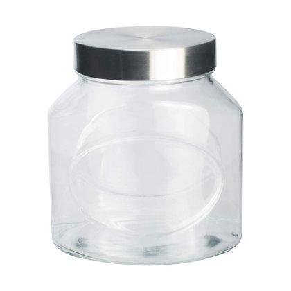 Frasco Con Tapa De Metal De 1000 ml Elipse Pasabahce