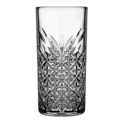 Set De 4 Vasos Largos De 15.2 oz (450 ml) Timeless Black Pasabahce