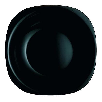 Plato Trinche De 27 cm Carine Negro Luminarc