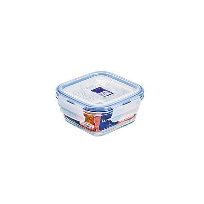 Recipiente Con Tapa Pure Box Cuadrado De 15 Cm Luminarc