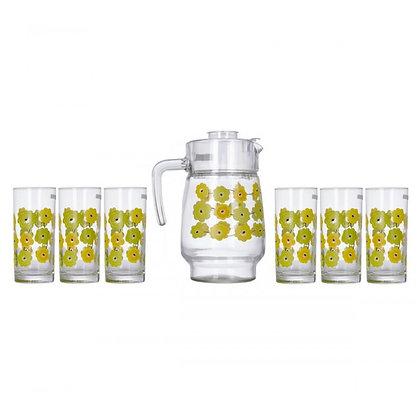 Set De 1 Jarra y 6 Vasos Meline Luminarc