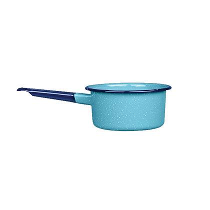 Cacerola Honda De 18 cm Azul Turqueza Cinsa