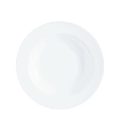 Plato Para Sopa Evolution Blanco Luminarc