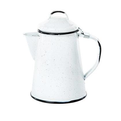 Cafetera Con Tapa De 600 ml Blanca Cinsa