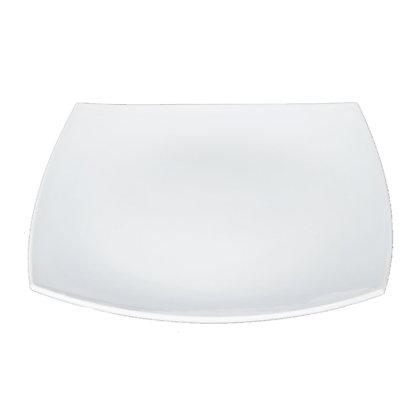 Plato Trinche 27 cm Quadratto Blanco Luminarc