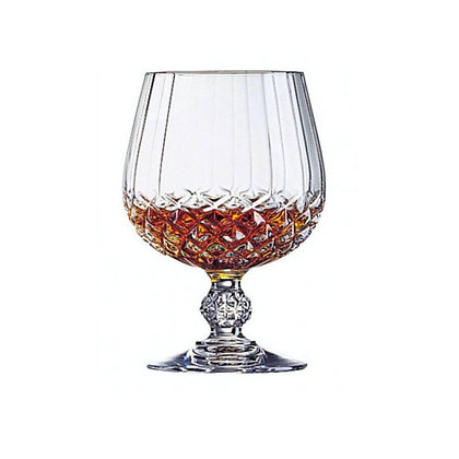 Set De 6 Copas Para Cognac De 10.8 oz (320 ml) Long Champ D Arques