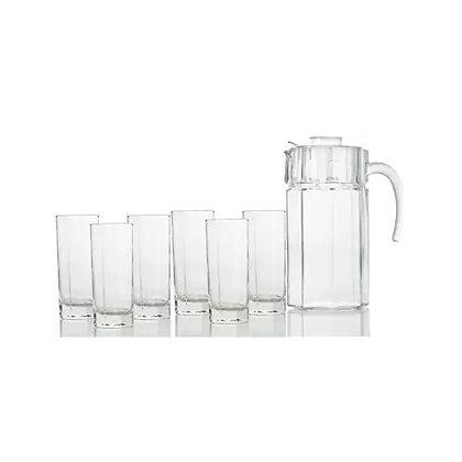 Set De 1 Jarra y 6 Vasos Octime Luminarc