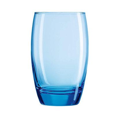 Set De 6 Vasos 12 oz (350 ml) Salto Ice Blue Arcoroc