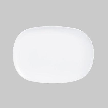Fuente Rectangular De 34 cm X 24 cm Evolution Blanca Luminarc