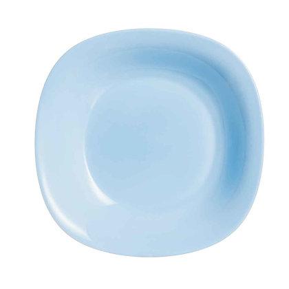 Plato Trinche Carine De 27 cm Azul Light Blue Luminarc