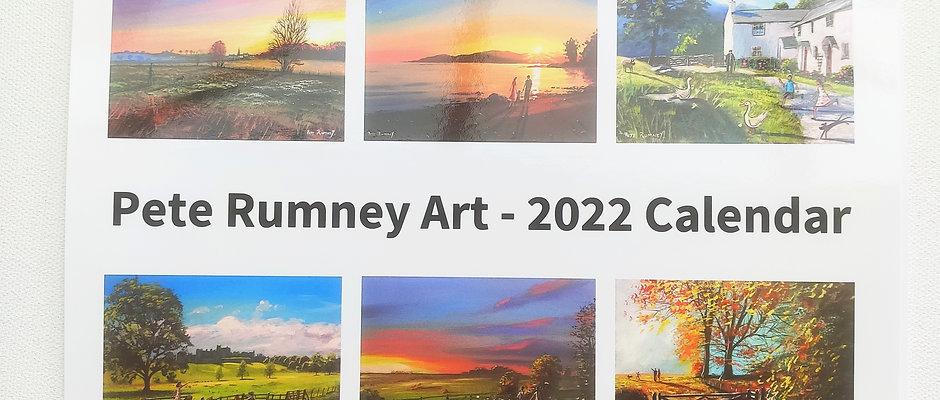 * PREORDER Pete Rumney Art Calendar 2022