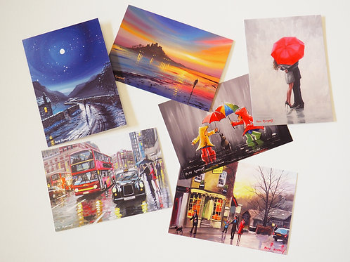 6 Quality Greetings Cards (ref: ap6)