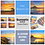 Thumbnail: Sunsets And Sunrises  - 8 Quality Greetings Cards