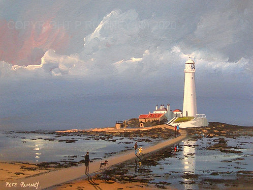A Day At The Lighthouse - Whitley Bay (St Marys Island)