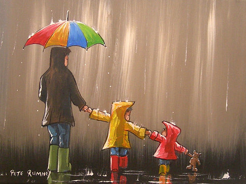 Family Adventure In The Rain