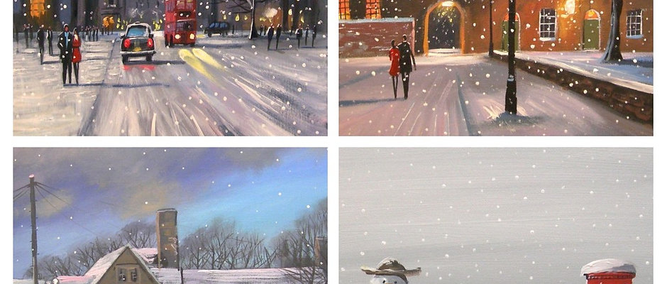 Christmas Cards 2020 PK of 8