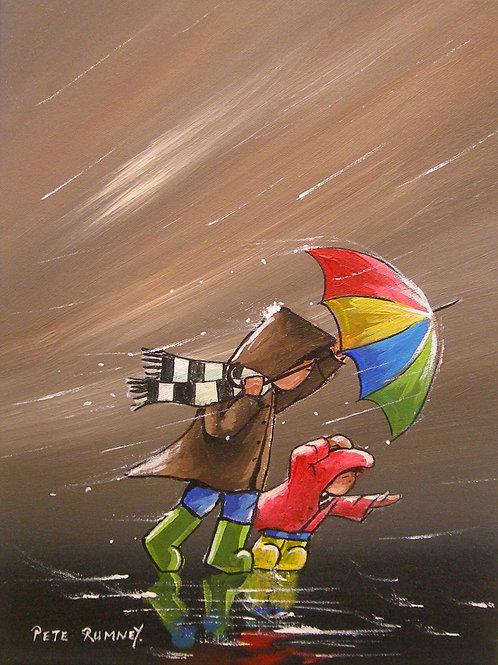 Fighting Through The Rain