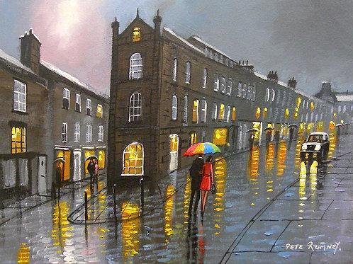 Walk In Alnwick Rain