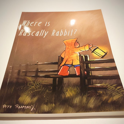 Where's Rascally Rabbit? Coffee Table Picture Book