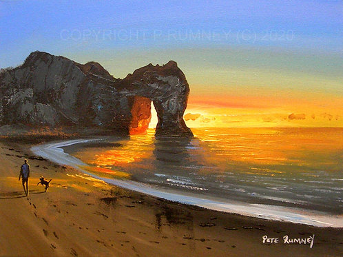 Durdledoor Sunrise