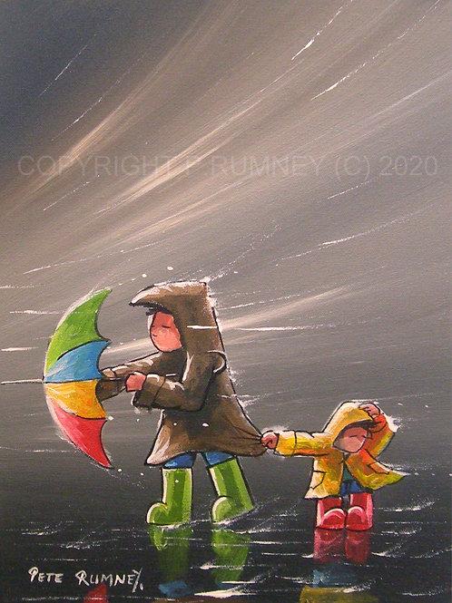 Windy Day Adventure