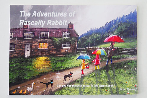 The Adventures Of Rascally Rabbit - Signed Picture Art Book  - available Now