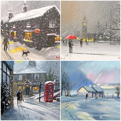 Winter Scenes 2021 PK of 8