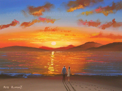 Together at Sunset