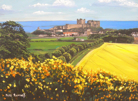 Love spending days in Bamburgh