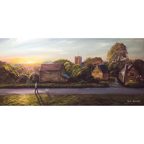 Evening Wander Original Canvas Painting