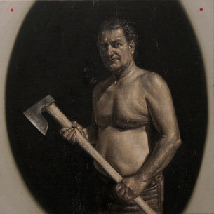 Man With Ax