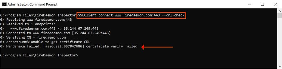 SSL / TLS Certificate Chain Validator