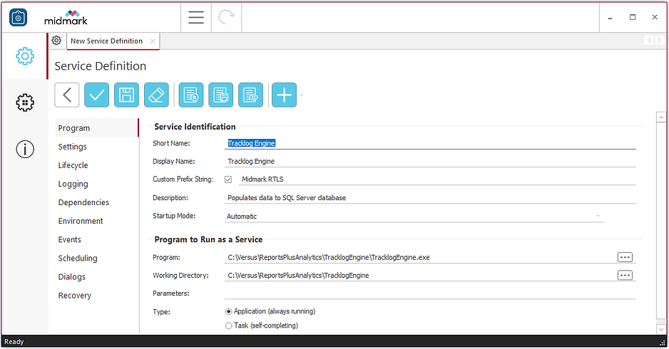 Run any application as a Windows Service OEM