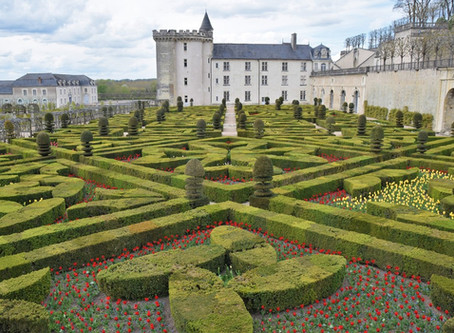 The Chateau Gardens at Villandry