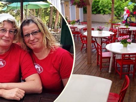 Så räddades det populära Fårö-Cafét från Corona-stängning