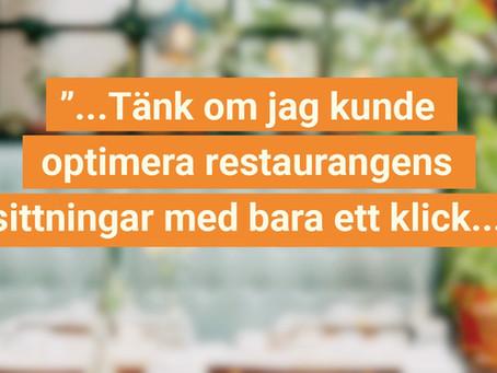 Optimera sittningarna och öka lönsamheten i restaurangen!