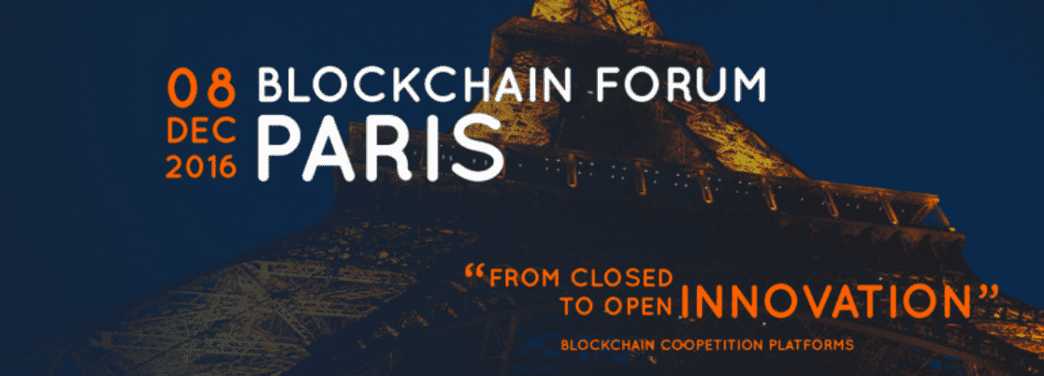 Blockchain forum 2016