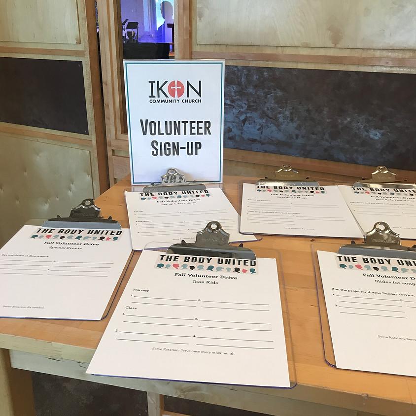 Ikon Volunteer Drive
