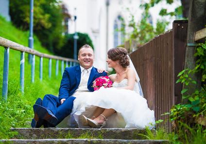 fotoshooting braut und bräutigam