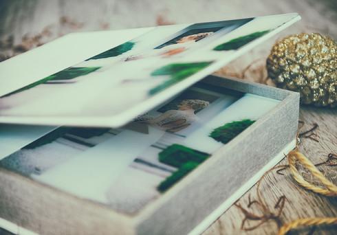 fotobuch hinter acryl