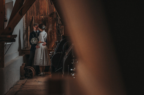 Hochzeitsshooting Mühlenmuseum Tierhaupten