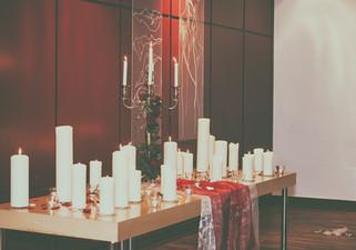 candle light saal königsbrunn