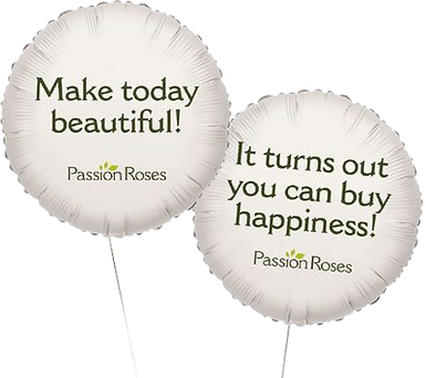 Passion Roses passionroses.com balloons
